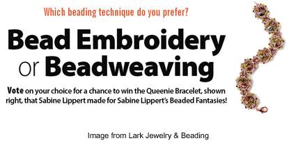 enter to win a Sabine Lippert original from Lark Jewelry & Beading