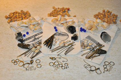 Laliberi jewelry components and bead for givewaway