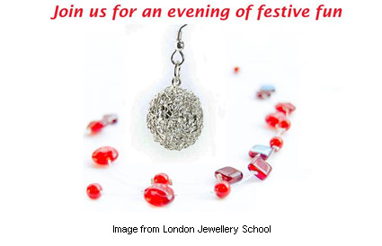 London Jewellery School Christmas party is December 13!