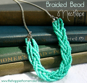 Braided Beaded Necklace