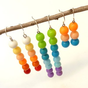 Pop Bead Earrings