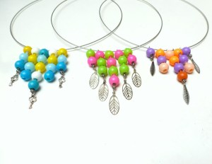 Pop Bead Necklaces