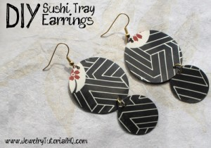 Sushi Tray Earrings