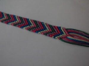 Chevron Friendship Bracelet