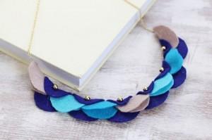 Felt Garland Necklace