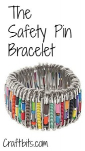 Safety Pin Bracelet