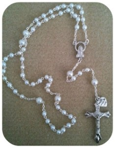 Rosary Bead Necklace