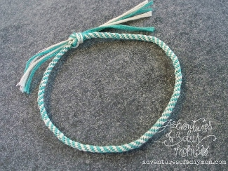 How to Make a Kumihimo Braided Bracelet or Anklet