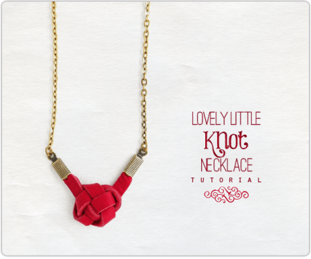 Lovely Little Knot necklace Tutorial