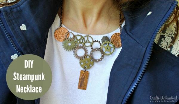 DIY Steam Punk Necklace