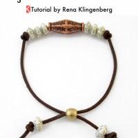 Adjustable Cord Bracelet Tutorial