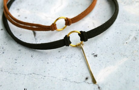 Leather Choker Tutorial