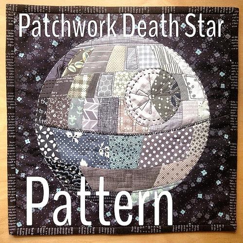 Death Star Patchwork Quilt