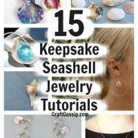 15 Seashell Jewelry Crafts