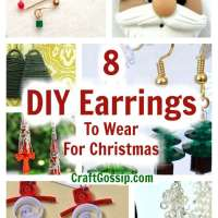 8 DIY Earrings To Wear For Christmas