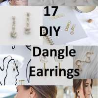 17 DIY Dangle Earrings You Can Make Yourself