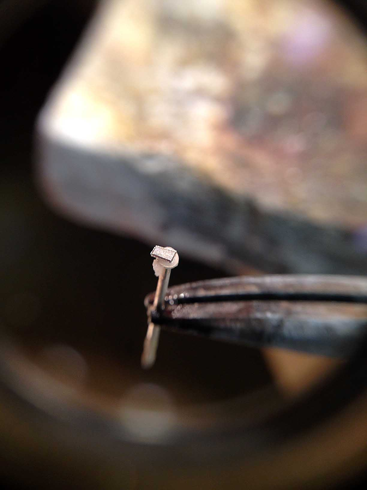 How To Solder A Post Onto An Earring Jewelrymonk
