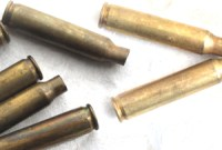 how to clean brass bullet shells