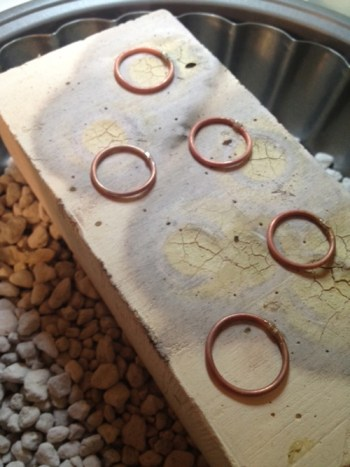 learning to solder brass rings (free e-course)