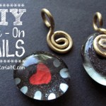DIY Aanraku Glue - On Bails for scrabble tile pendants