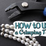 how to use a crimping tool and crimp covers to finish your beaded jewelry designs professionally