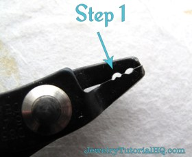 how to use a crimping tool to finish jewelry