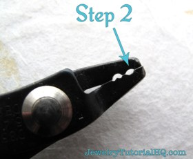 how to use a crimping tool for beaded jewelry