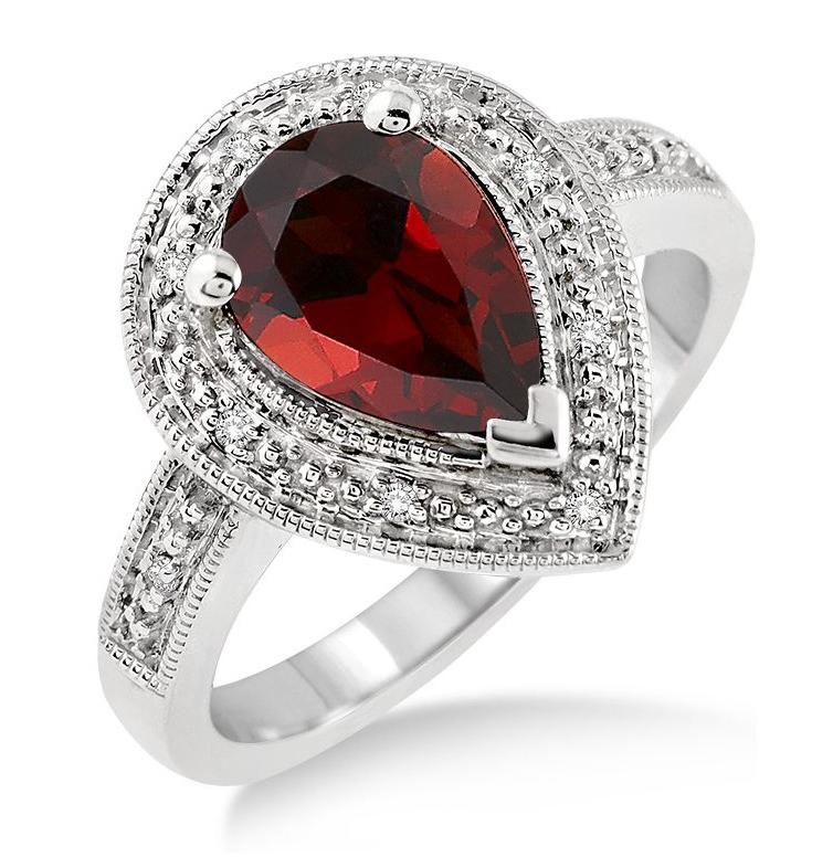 January Birthstone The Garnet Jewelry Warehouse Blog