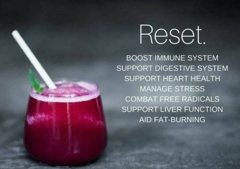 reset restore renew nutritional cleansing fasting intermittent fasting nutrition optimal wellness fat burning manage stress support phytonutrients adaptogens superfoods antioxidants