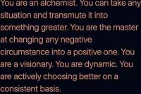 alchemist, transmutation, master, positive, law of attraction, loa