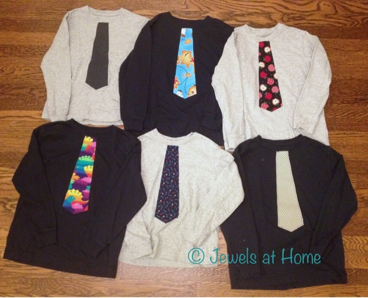 DIY Tie T Shirt Tutorial Jewels At Home