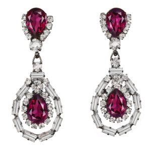 Alan Anderson Drop Earrings Amethyst