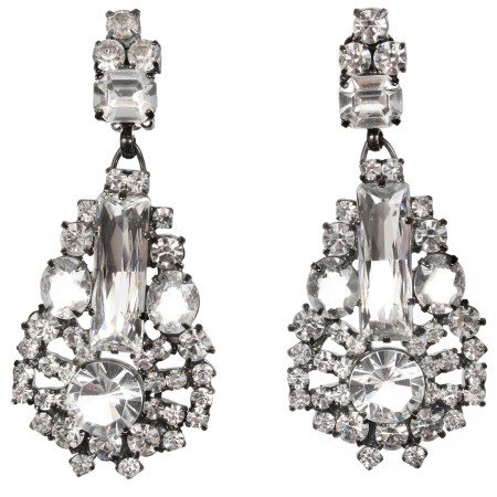 Alan Anderson Drop Earrings Crystal