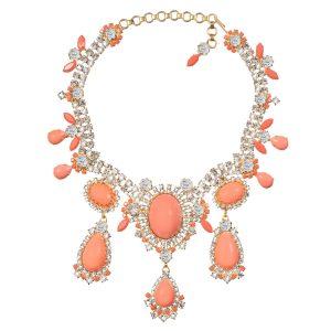 Alan Anderson Drop Necklace Pink Opal