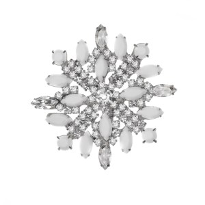 Jewels by Alan Anderson Holiday Snowflake Brooch