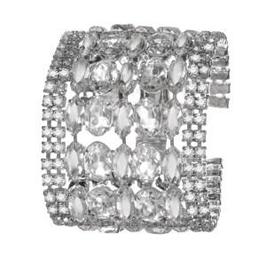Jewels by Alan Anderson Holiday Crystal Flex Bracelet