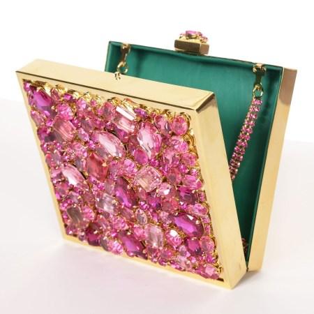 Alan Anderson Minaudiere Pink Crystal