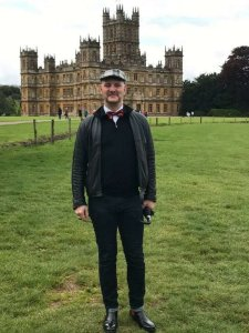 A day at Highclere Castle on a windy day in May.