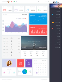Hi5Dash - Bootstrap 4 Simple Admin Dashboard Template 2