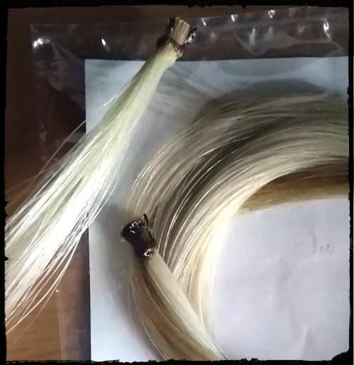 馬の毛・弓毛