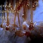 神聖幾何学模様水晶ブレスレット