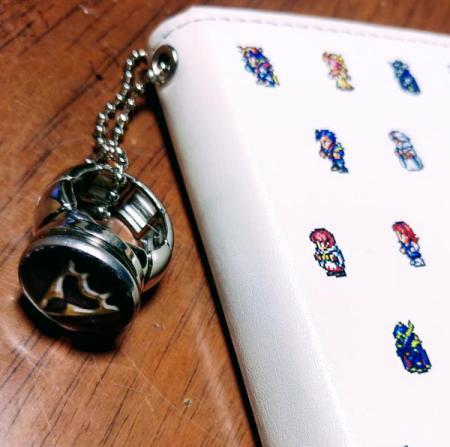竜騎士のスナップボタンのリング