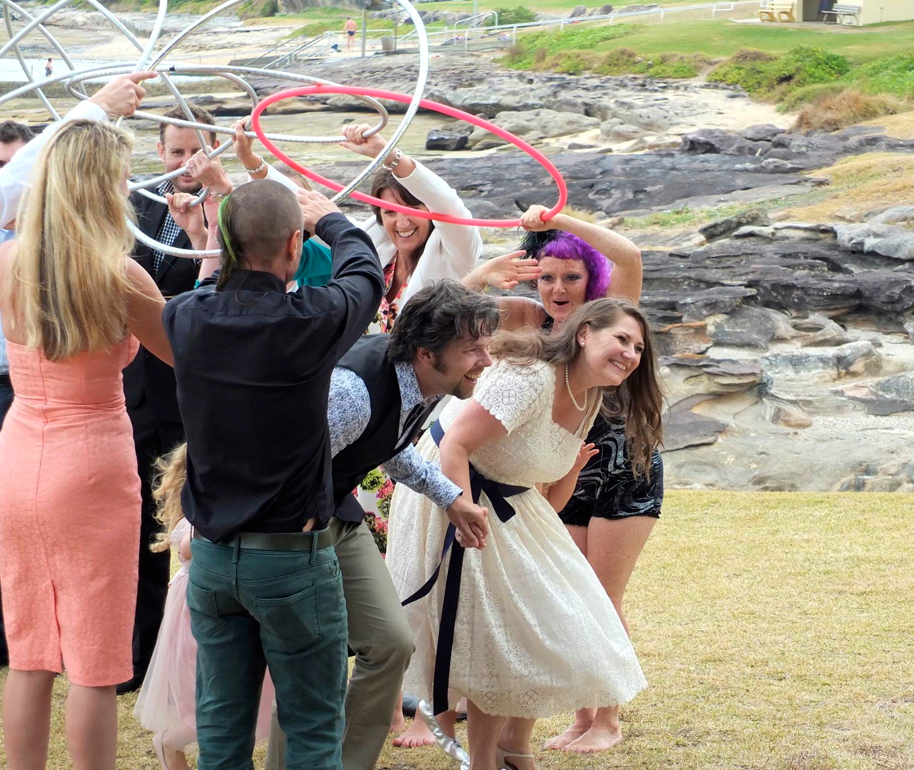 Hoopy Wedding - Karen