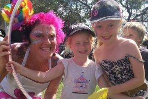 Lottie at Bundeena Arts Festival 2014 copy