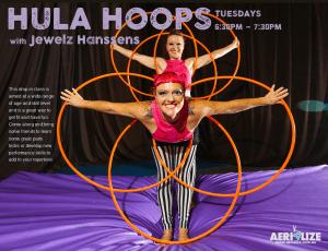 Aerialize Hula Hoops Class