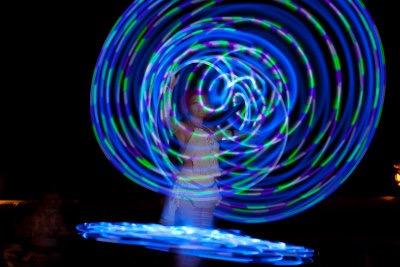 Hoop Fairy LED show KPG 4