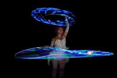 Hoop Fairy LED show KPG 5