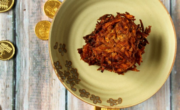 Carrot Cake Latke with Whipped Cream Cheese Frosting JEwhungry Kosher Food Blog