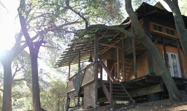 Our Teahouse in Topanga Canyon