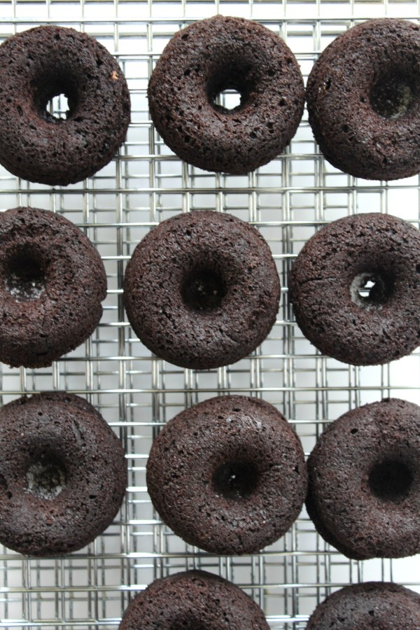 Baked Chocolate Chai Donuts with Tahini Glaze Jewhungry Kosher Blog